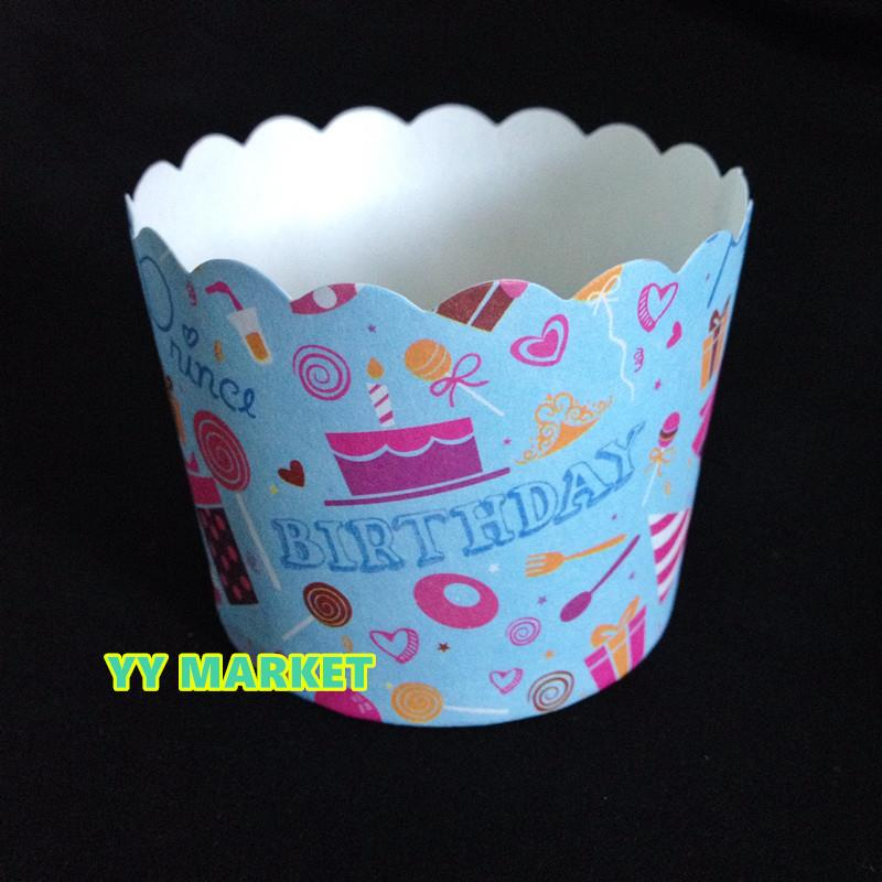 SALES Birthday Cupcake/Muffin paper cups Baking Cups Big