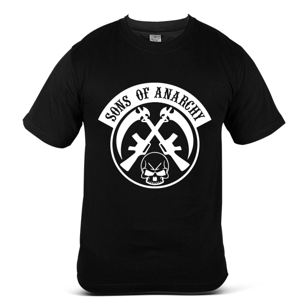 SAMCRO Sons Of Anarchy Skull Reaper Motorcycle Sport Bike T-Shirt 2