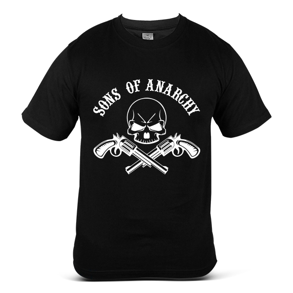 SAMCRO Sons Of Anarchy Skull Reaper Motorcycle Sport Bike T-Shirt 7