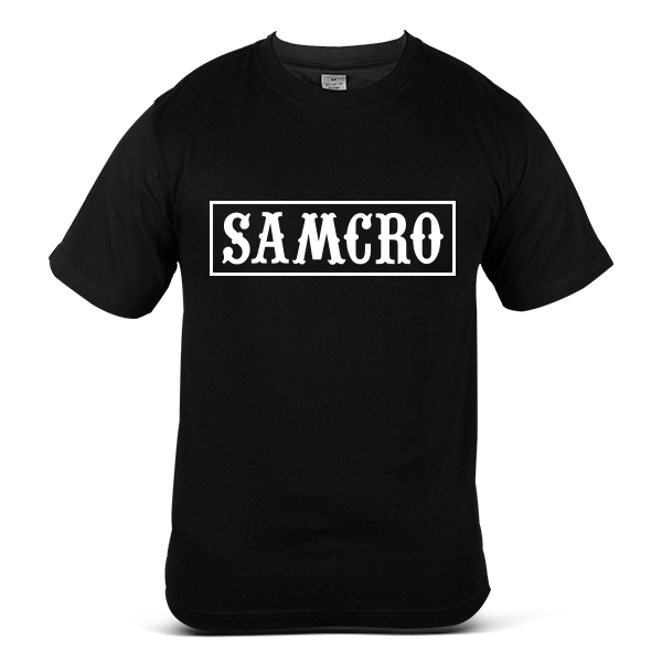SAMCRO Sons Of Anarchy Skull Reaper Motorcycle Sport Bike T-Shirt 8