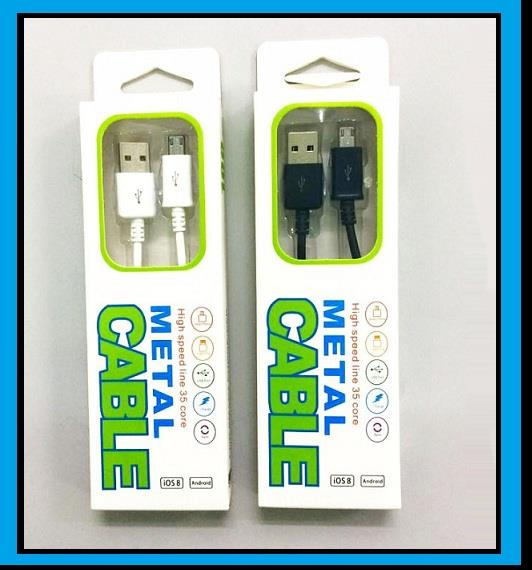 SAMSUNG 1M Micro Data Sync USB Cable for Galaxy S4 S5 Note 3 4