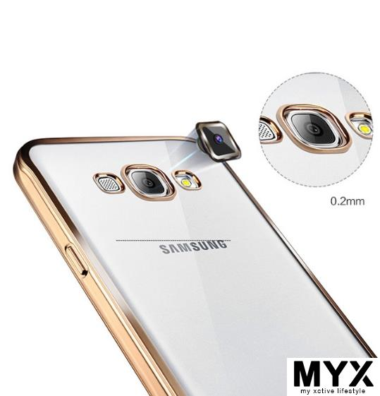 Samsung 2016 J5 5108 Electroplating non-slip TPU Casing Case Cover