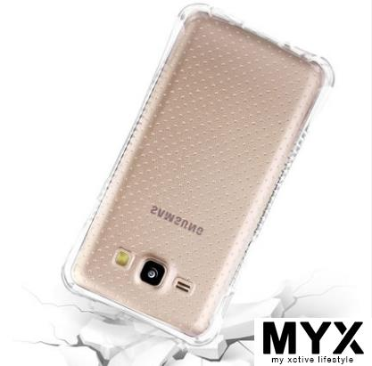 Samsung 2016 J5 5108 Thick Transparent Silicone Casing Case Cover