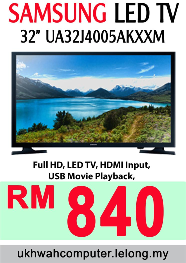 Samsung 32 Inch LED TV UA32J4005KXXM Full Price