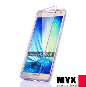 Samsung A7(2015) Silicone Casing Case Cover Drop Resistance