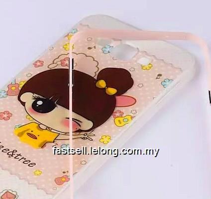 Samsung A8 Cute Candy Back Case Casing Cover