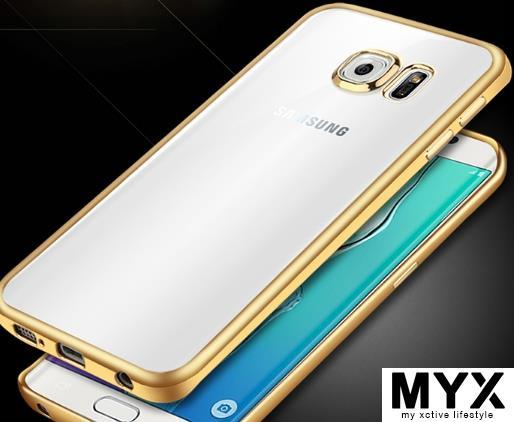 Samsung A9 (A900) Chrome Gold Silicone Casing Case Cover