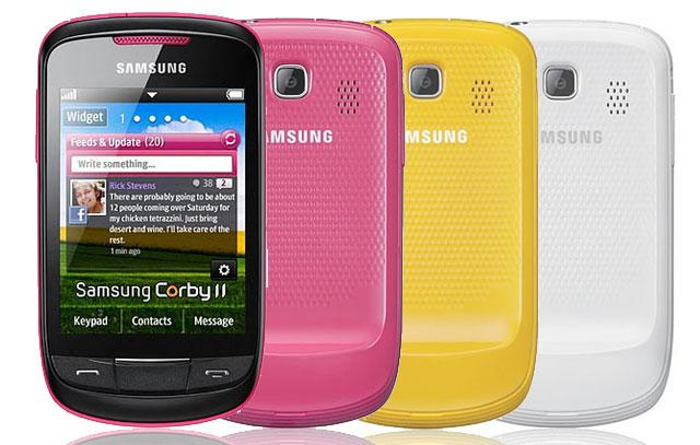 Samsung Corby II / 100% Original , WiFi , 2.0 MP , Capacitive Touch ...