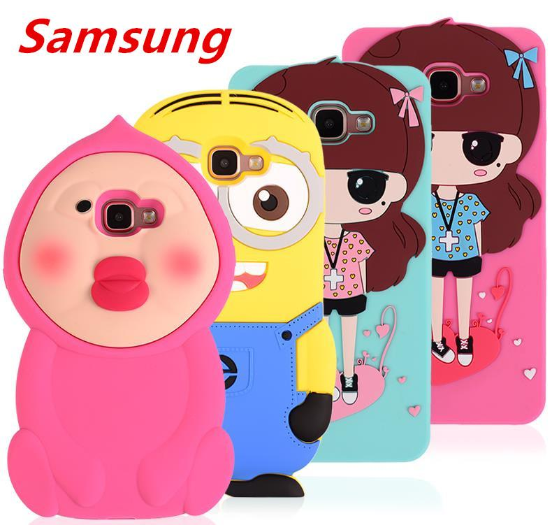 Samsung Galaxy A5 A7 A9 2016 Silicone Case Cover Casing + Free Gift