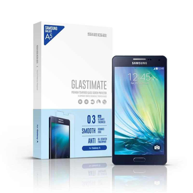 Samsung Galaxy A5 SIEGE Glastimate Premium Tempered Glass - Original