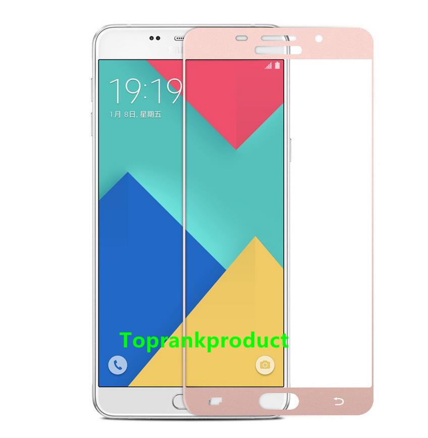 Samsung Galaxy A9 Pro A910 Full Cover Tempered Glass Screen Protector