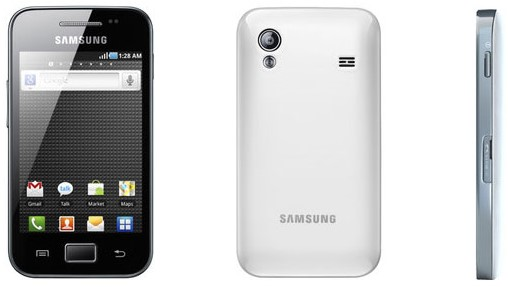 Samsung Galaxy Ace S5830 PURE WHITE Phone (MDO-SAMS5830PUREWHT)