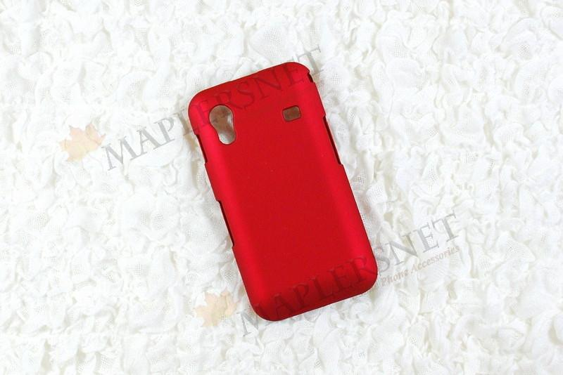 Samsung Galaxy Ace s5830 Slim Hard Shell Case Casing [Red]