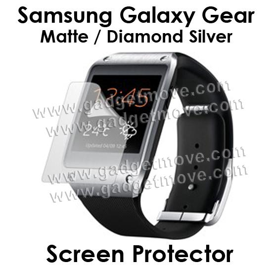 Samsung Galaxy Gear Diamond / Clear / Matte Type Film Screen Protector
