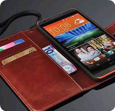 Samsung Galaxy Grand 2 Duos Leather Wallet Phone Case Casing Cover