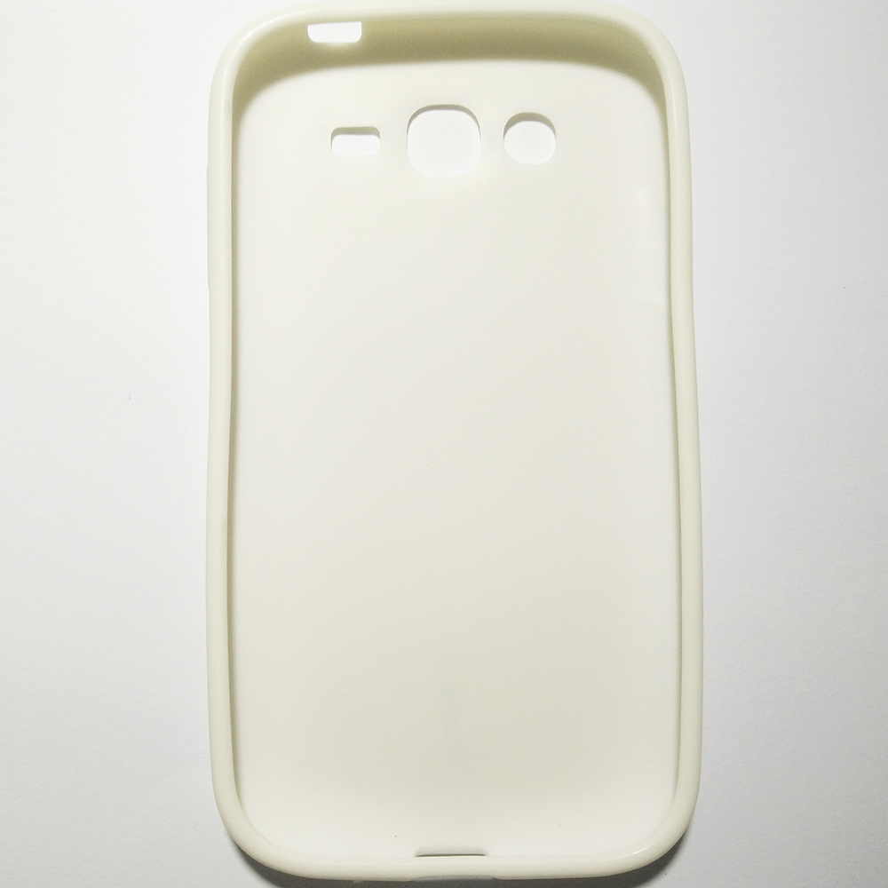 SAMSUNG GALAXY GRAND - WHITE COLOUR - PHONE SILICONE BACK COVER CASE