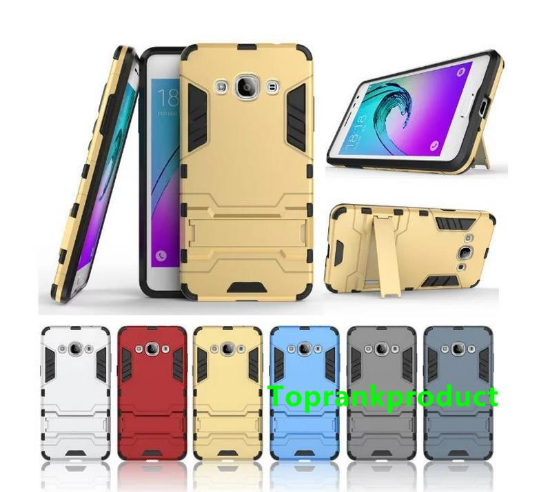 Samsung Galaxy J3 Pro 2016 J3110 Stand Armor Case Cover Casing + Gift