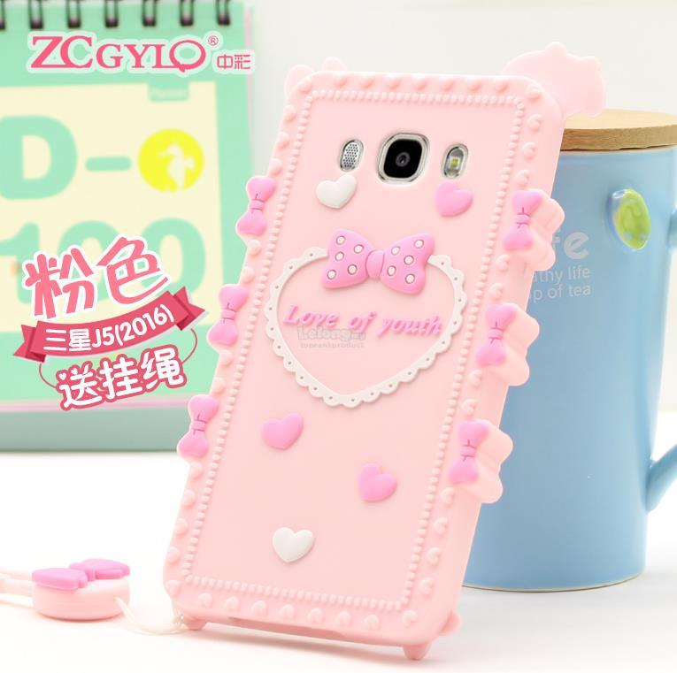 Samsung Galaxy J5 J7 2016 Shakeproof Silicone Case Cover Casing +Gift