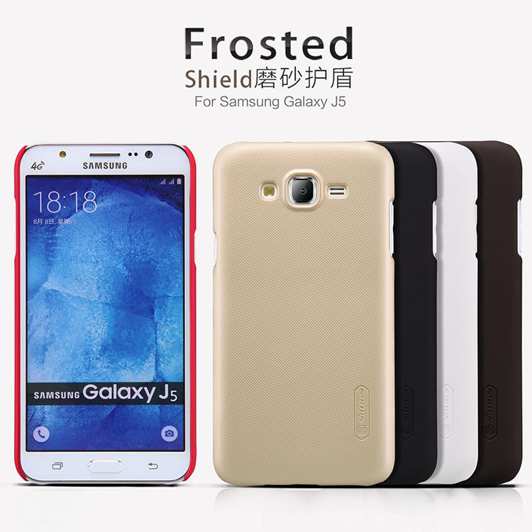 Samsung Galaxy J5 Nillkin Super Frosted Shield Cover Sand Case