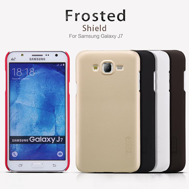 Samsung Galaxy J7 Nillkin Super Frosted Shield Cover Sand Case