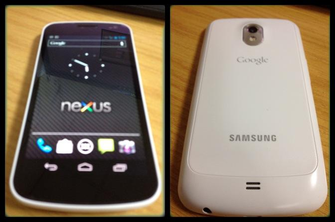 Samsung Galaxy Nexus-Limited White 18 Months Warranty FOC Case & Freeb..