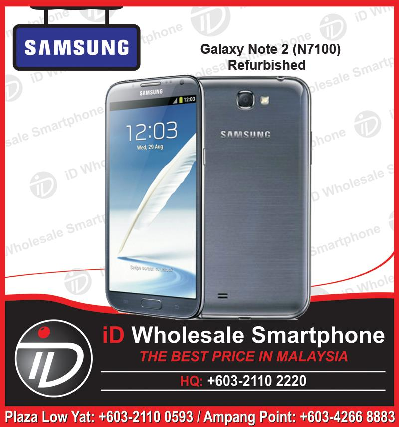 SAMSUNG Galaxy Note 2 N7100 Refurbished 100% LIKE NEW