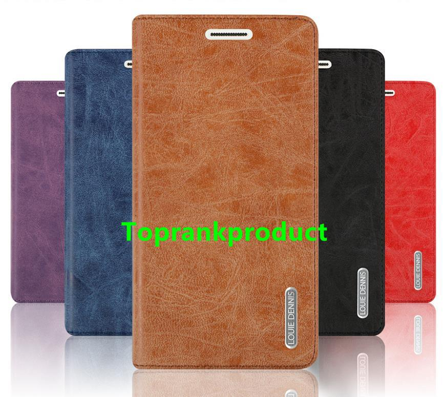 Samsung Galaxy Note 3 4 5 Flip PU Leather Stand Case Cover Casing