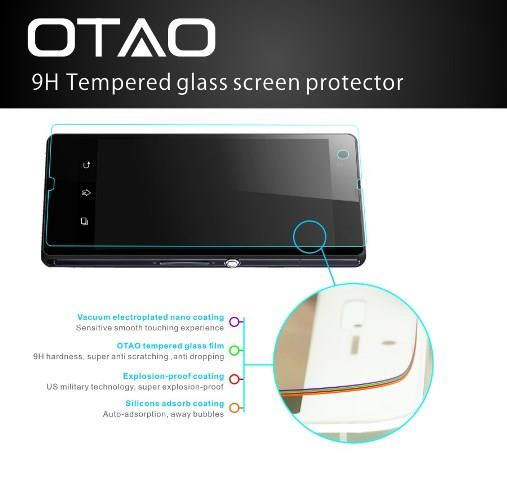 Samsung Galaxy Note 3 III Tempered Glass Full Screen Protector