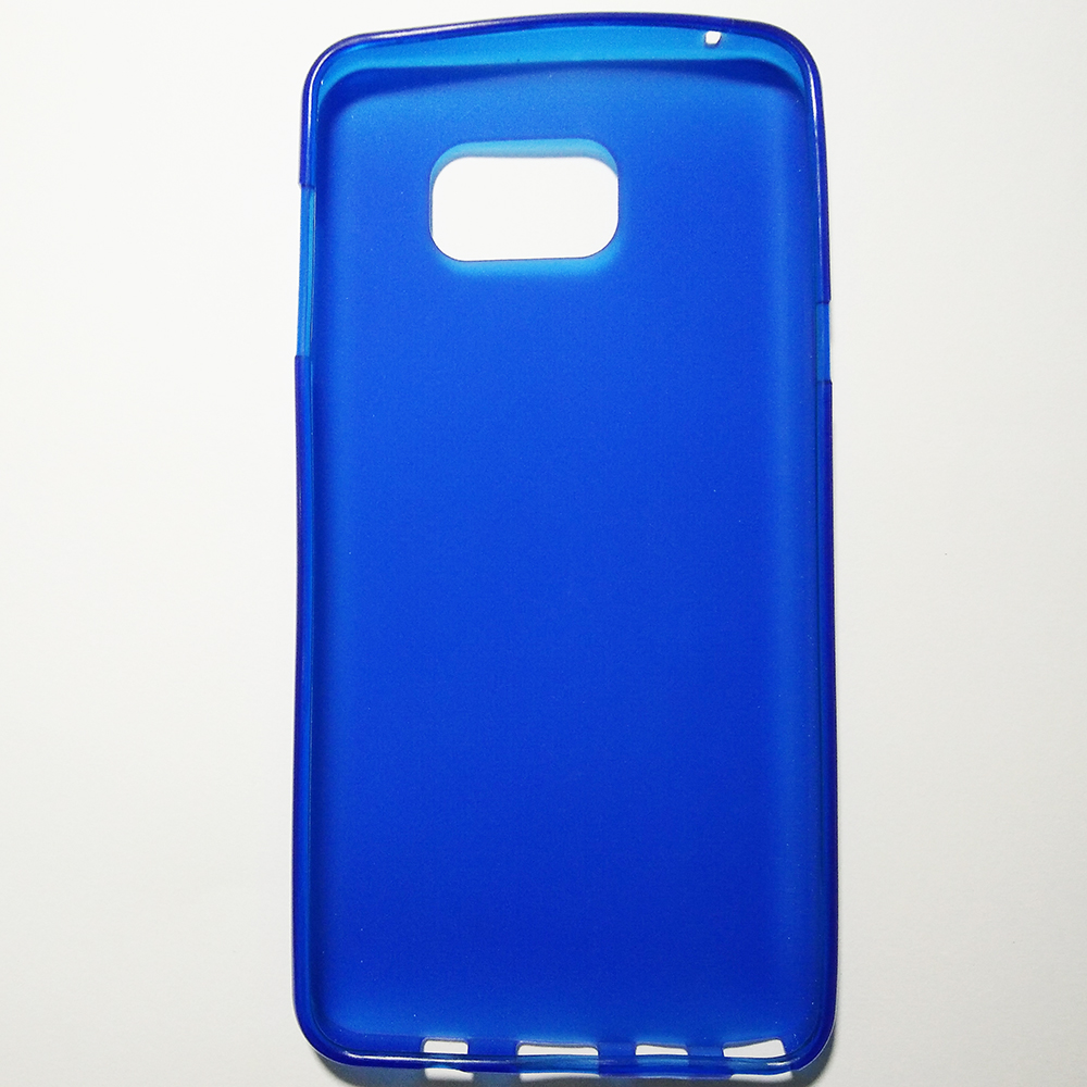 SAMSUNG GALAXY NOTE 5 - BLUE COLOUR - PHONE SILICONE BACK COVER CASE