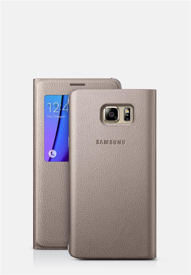 Samsung Galaxy Note 5 S View Flip Cover Case Sleep Mode Function