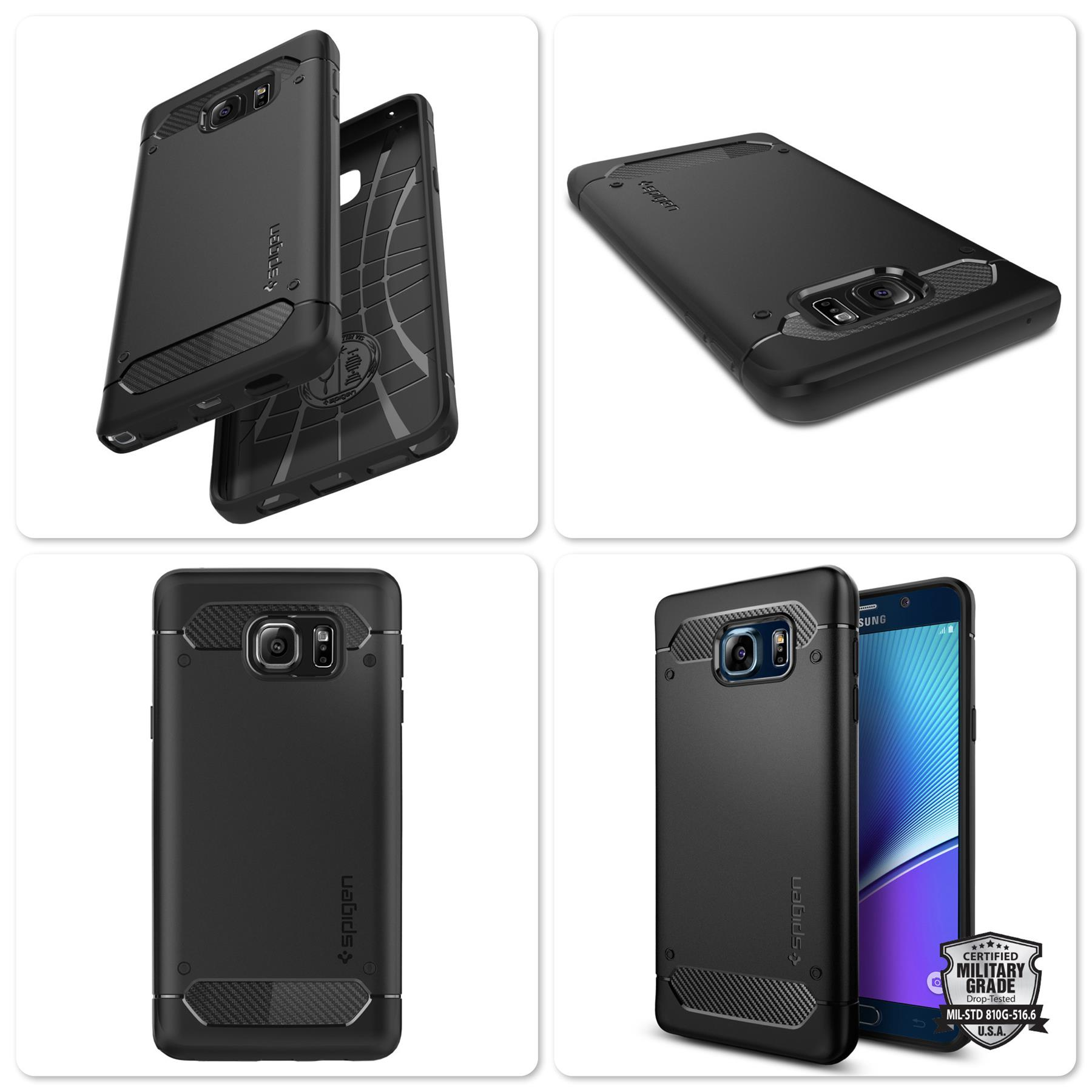 Samsung Galaxy Note 5 Spigen Rugged Armor Series Protective Case