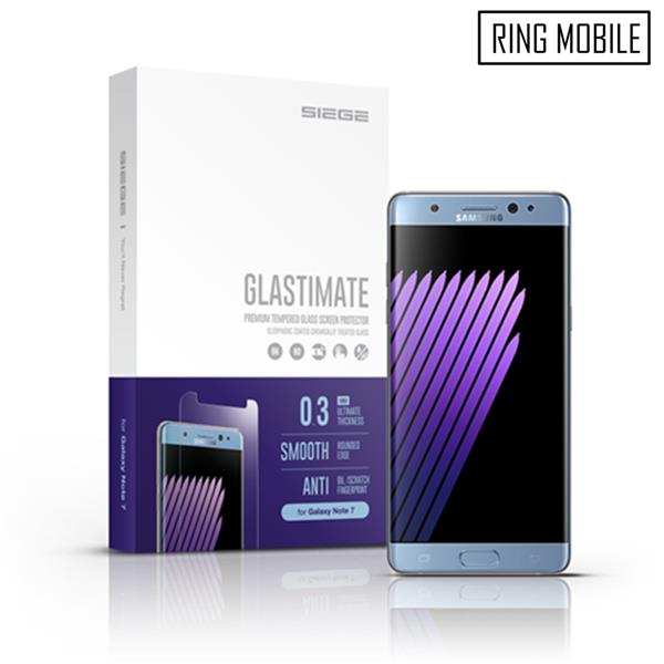 Samsung Galaxy Note 7 SIEGE Glastimate HD Clear Tempered Glass