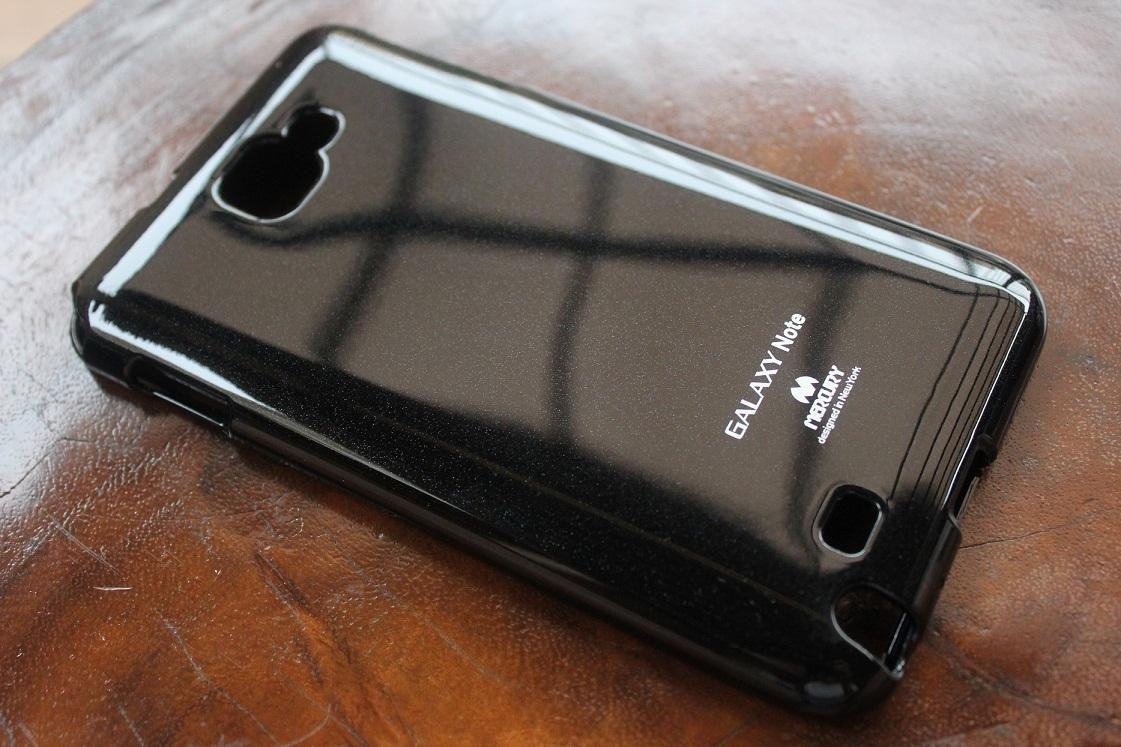 Samsung Galaxy Note Black Mercury Case Imported From Korea