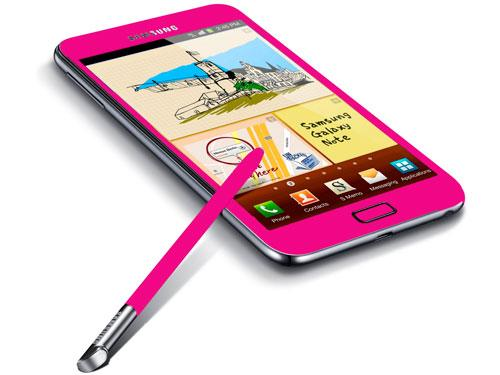 Samsung Galaxy Note-Limited Edition Pink Color-FOC Pouch & Gifts-18 Months W