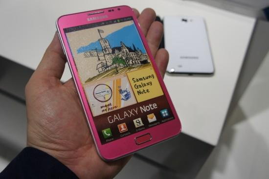 Samsung Galaxy Note-LIMITED Pink COLOR 18 Months Warranty FOC Case & F..