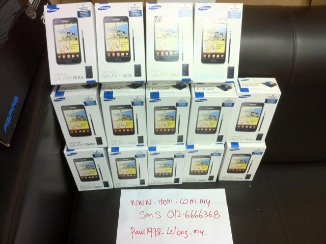 SamSung Galaxy note samsung ORI SME READY STOCK BLACK  WHITE