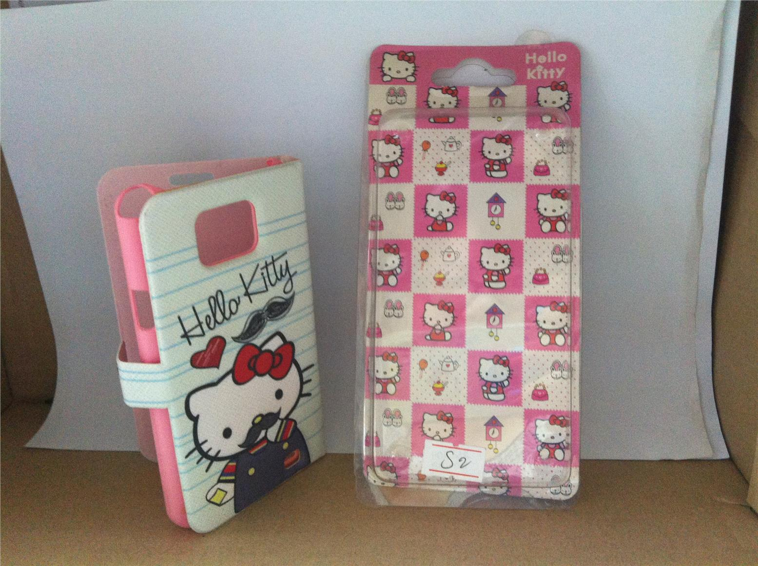 Samsung Galaxy S2 Buy 1 Free 3 Hello Kitty Cartoon Diary Case