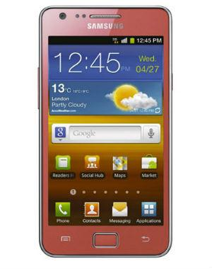 Samsung Galaxy S2 i9100G Limited Edition Pink Color-Ready Stock-18 Month Wrty