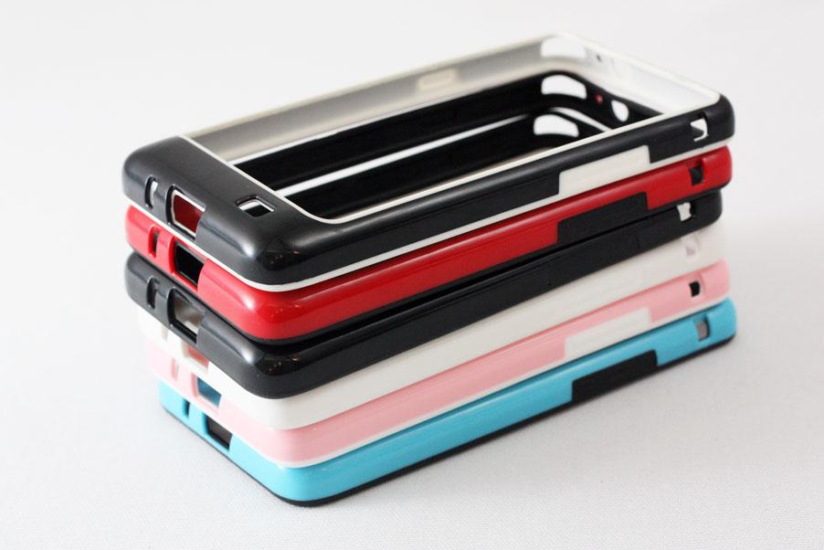 Samsung Galaxy S2 S 2 SII i9100 Bumper TPU PC Case Cover (6 Colors)