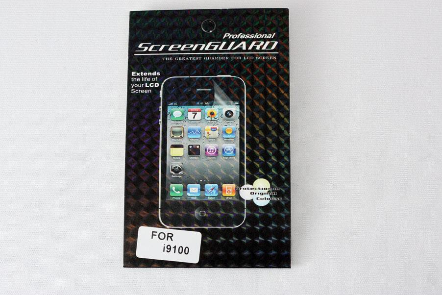 Samsung Galaxy S2 S 2 SII i9100 Screen Protector (Clear)