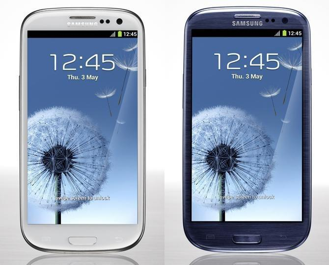 SAMSUNG GALAXY S3 BLUE & WHITE S 3 ORI SME WARRANTY READY STOCK I 9300