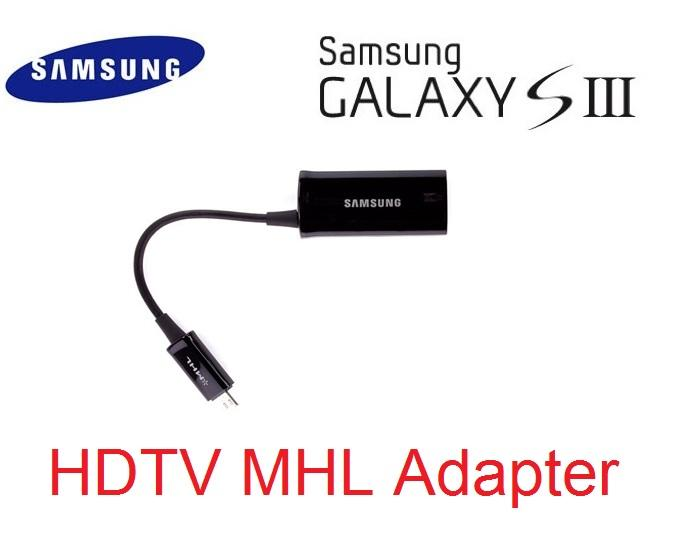 Samsung Galaxy S3 HDTV Adapter Micro USB MHL HDMI AV TV Out  Note 2