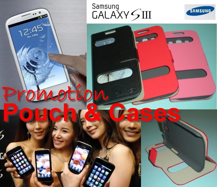 Samsung Galaxy S3 (i9300) - Pouch, Case, Flip Cover