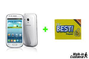 Samsung Galaxy S3 Mini SME Original Set + Digi Best Prepaid (Selangor