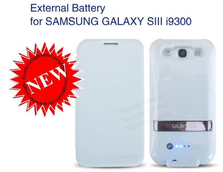 Samsung Galaxy S3 S 3 External Battery with case