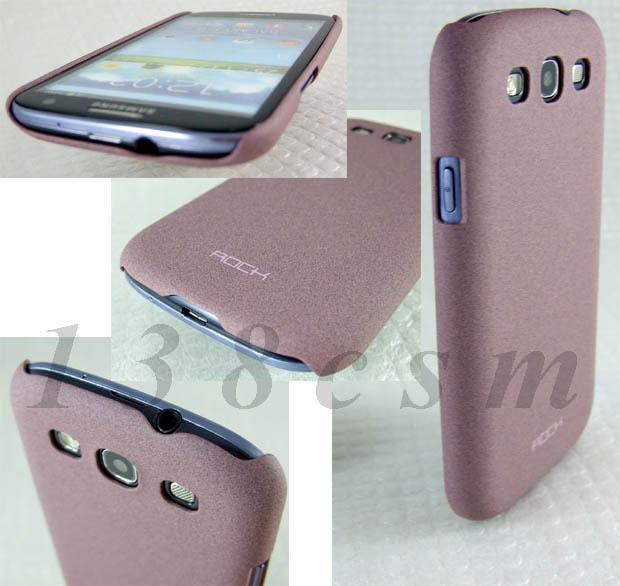 Samsung Galaxy S3 SIII ROCK case cover QuickSand  -FREE Screen Guard