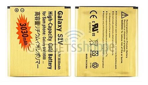 SAMSUNG GALAXY S4 I9500 3030MAH GOLD BATTERY