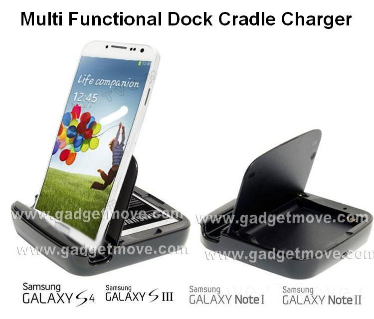 Samsung Galaxy S4 S3 S2 Note 3 2 1 External Battery Charger Dock