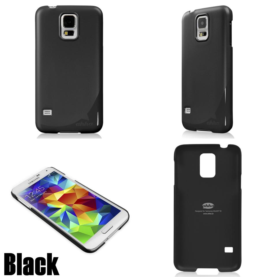 Samsung Galaxy S5 Ahha Pozo Series Hard Cover - Black - rmtlee