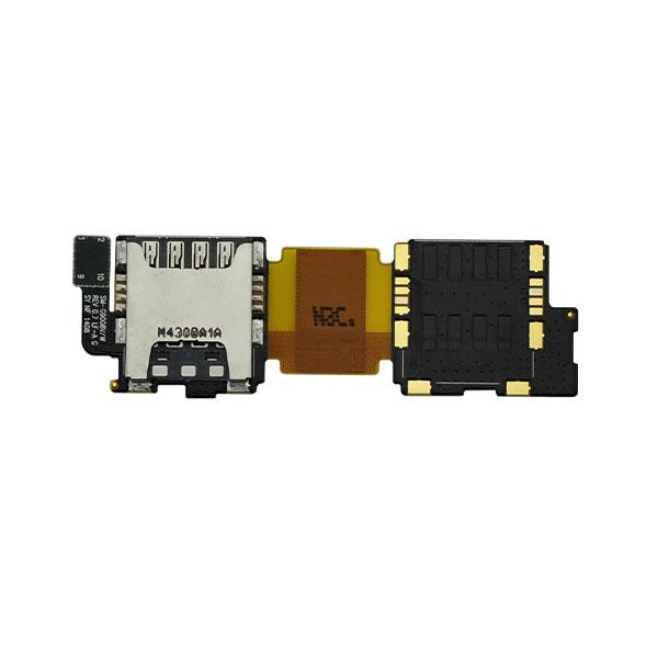 SAMSUNG Galaxy S5 G9008V i9600 G900- SIM / SD Card Slot Flex Connector